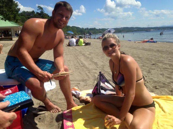 5.  Hit the beach!