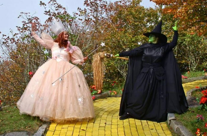 15. Good witch, bad witch? It doesn't matter, you can meet them BOTH at Land of Oz Theme Park on Beech Mountain.