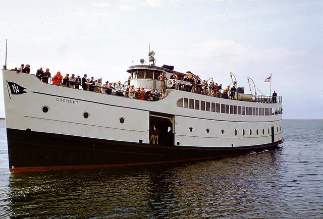 1. Take a trip on the Block Island Ferry!
