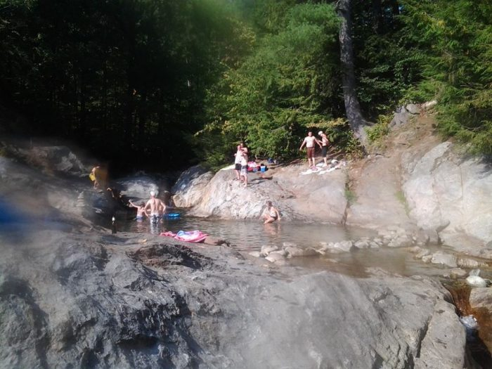 2.Jump in feet first at the Bolton potholes.