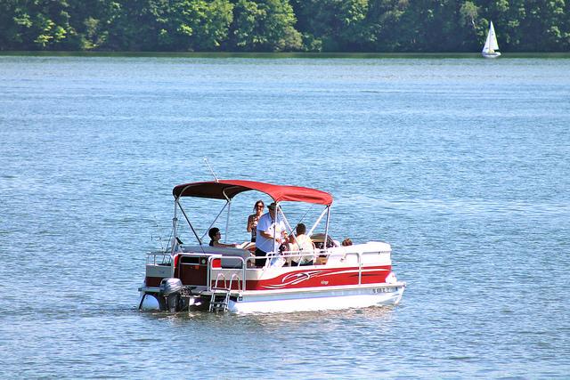 ...boating. Fishermen also find plenty of luck at Lake Arthur.