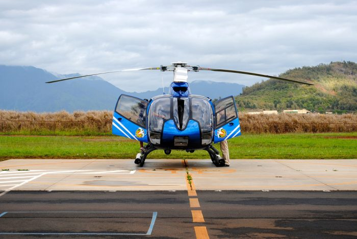 12. Take to the skies in a helicopter tour.