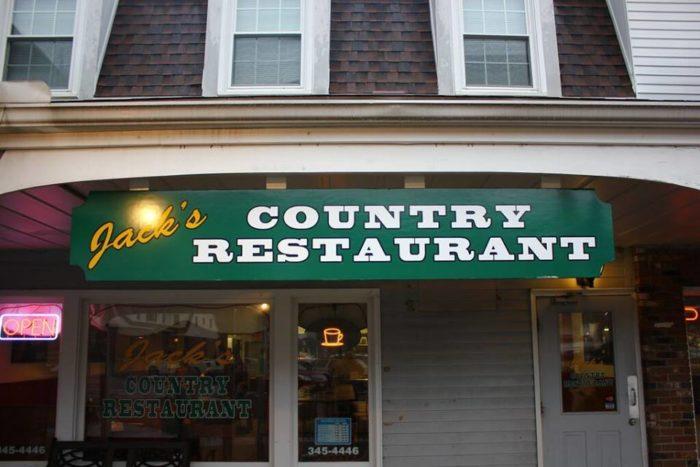 10. Jack's Country Restaurant (Higganum)