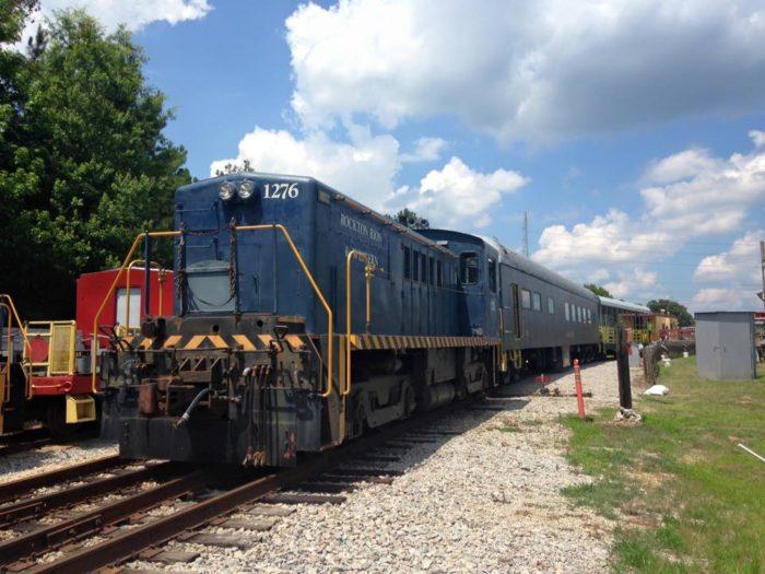 9. Take an epic train ride on vintage rail.