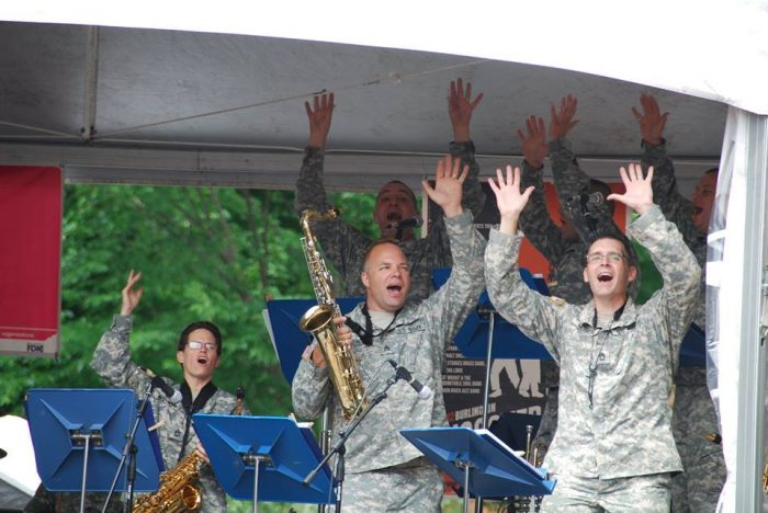 8. 40th Army Band Vermont National Guard Concert Band performance - Jeffersonville