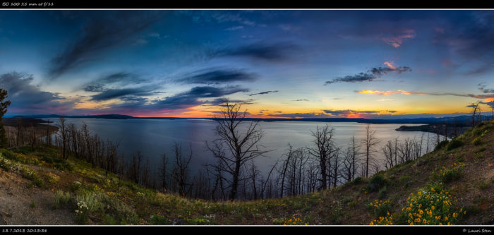 5. Yellowstone Lake Butte Overlook