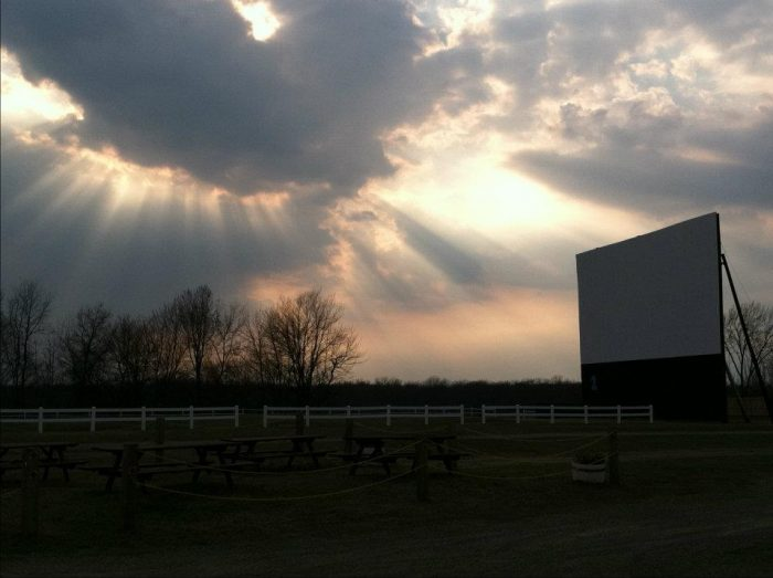 6.  Go to a drive-in movie.