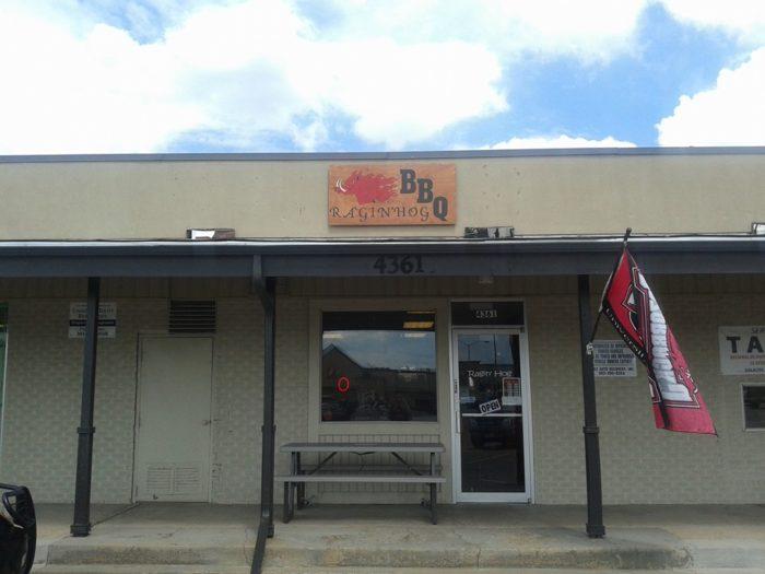 2. Ragin' Hog BBQ, 4361 Lowell Boulevard