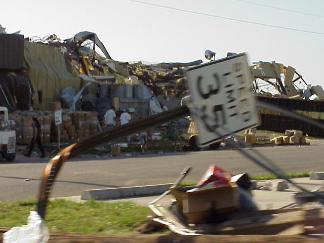 13. 1999: A Midwest tornado outbreak kills 6 and damages 150 homes and 27 businesses in the Wichita and Haysville area.