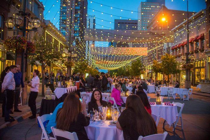9. Dining Al Fresco at Larimer Square, July, 16, 2016