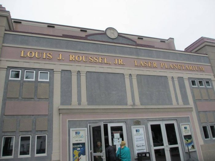 10) Go Stargazing at the Louis J Roussel Jr. Planetarium in Kenner's Rivertown.