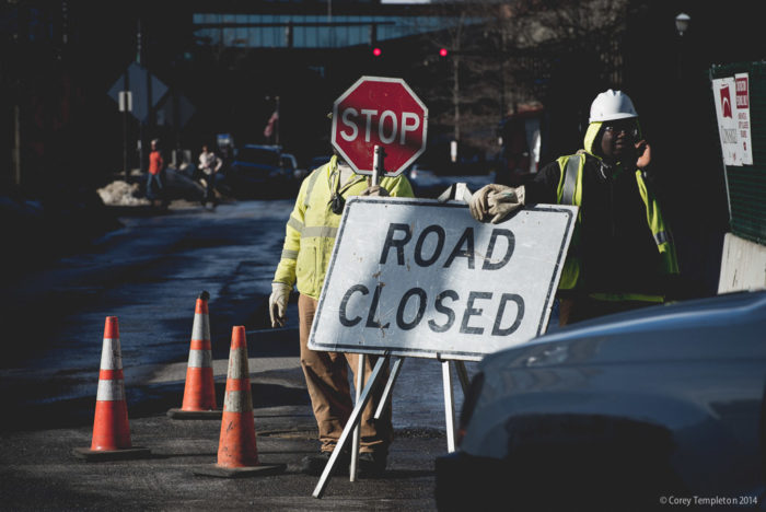 10. The debilitating road construction that comes after winter.