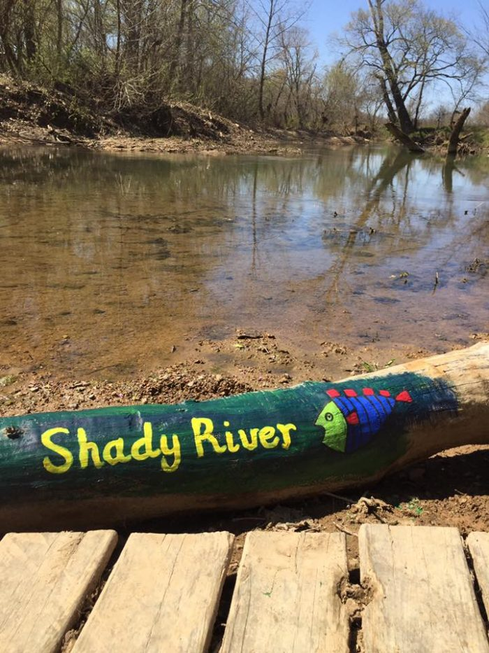Perhaps the best way to enjoy the river is to spend some time at Shady River Getaways, which is located on the Eleven Point River just outside of Pocahontas.