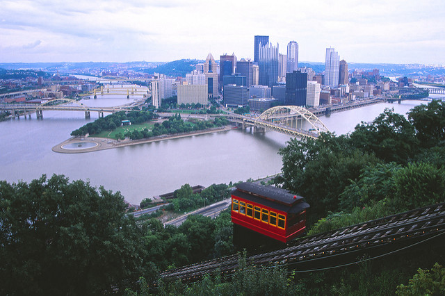 11.  Get a spectacular view of Pittsburgh aboard the Duquesne Incline.