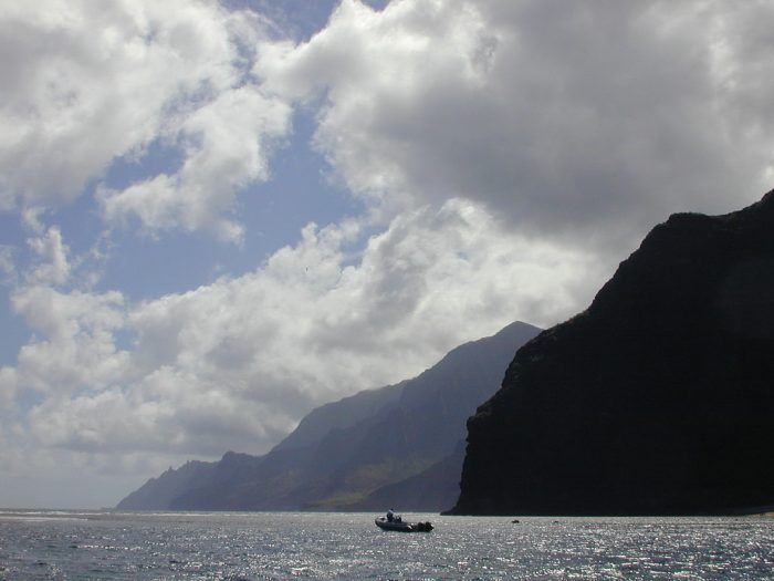 13. Zoom across the ocean in a sea raft.