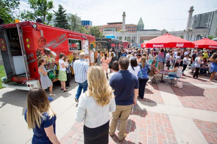 1. 11th Annual Civic Center EATS, May-Oct. 2016