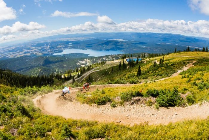 10. You'd have to be pretty brave to use the biking trail at Whitefish Mountain Resort.