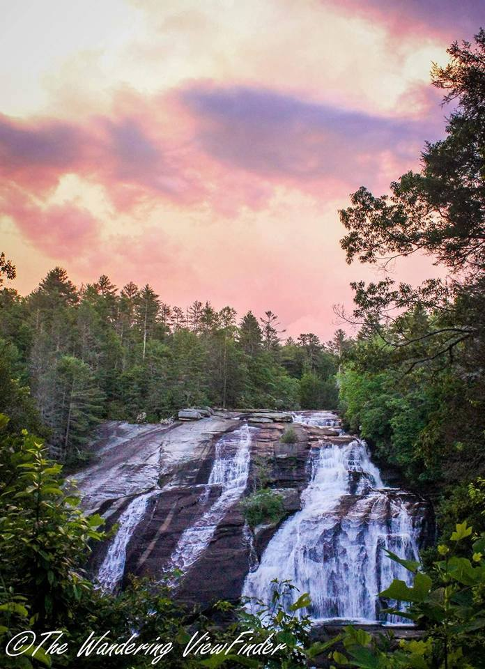 12. Mother Nature is at her finest during this sunset at High Falls. The DuPont State Forest is an amazing place to explore.