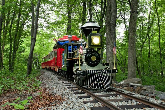 Catch a ride on the awesome narrow gauge railroad.