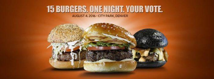 11. Denver Burger Battle, Aug. 4, 2106
