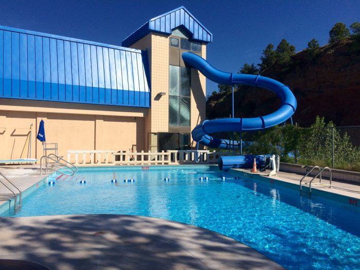 2. Or visit a water park like Evan's Plunge or Wild Water West for some serious fun in the water.