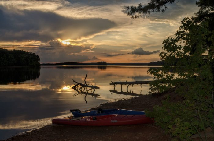 8. Hamilton Branch State Park seems to want to lull you to sleep in this serene image taken in the summer.