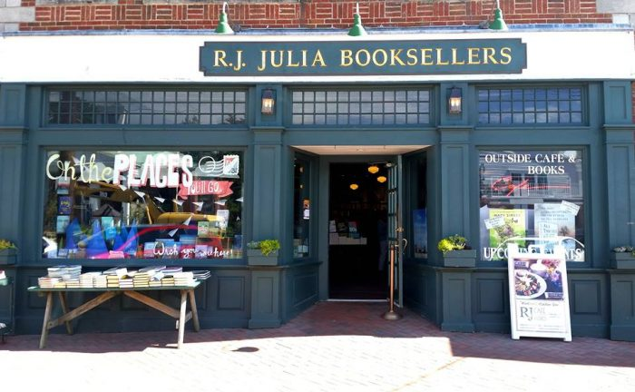 7. Explore your love of reading at the independent RJ Julia Booksellers in Madison.