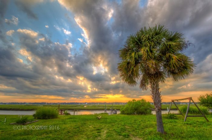 7. Murrells Inlet looking as beautiful as ever in this summer photo.