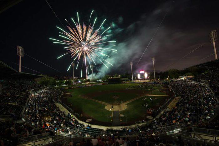 4. Saturday: Smith's Ballpark, Salt Lake City