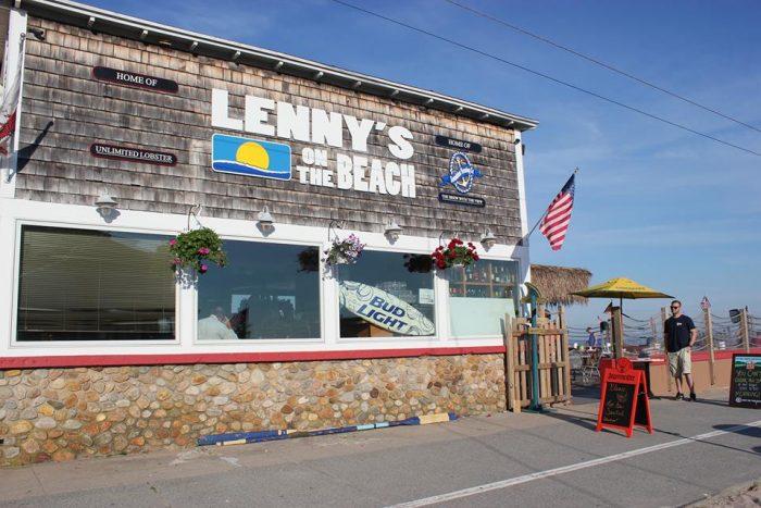 3. Lenny's On The Beach (Old Lyme)