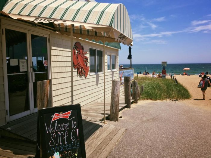 11. Surf 6 Oceanfront Grille & Bar, Old Orchard Beach