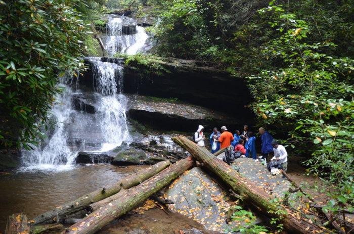 3. Becky Branch Falls—Rabun County, Georgia