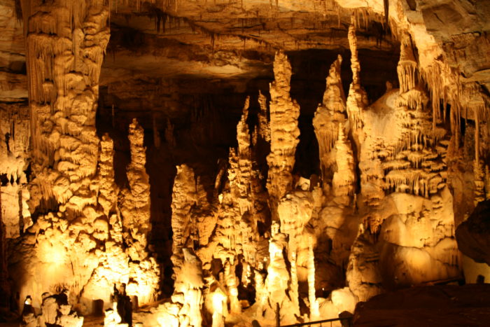 5. Take a tour of Cathedral Caverns.