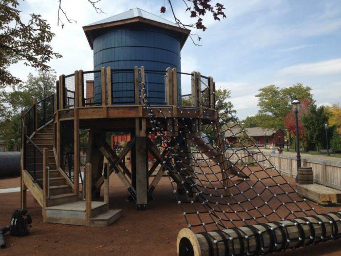1. Donald F. Kosch Village Playground (Greenfield Village, Dearborn)