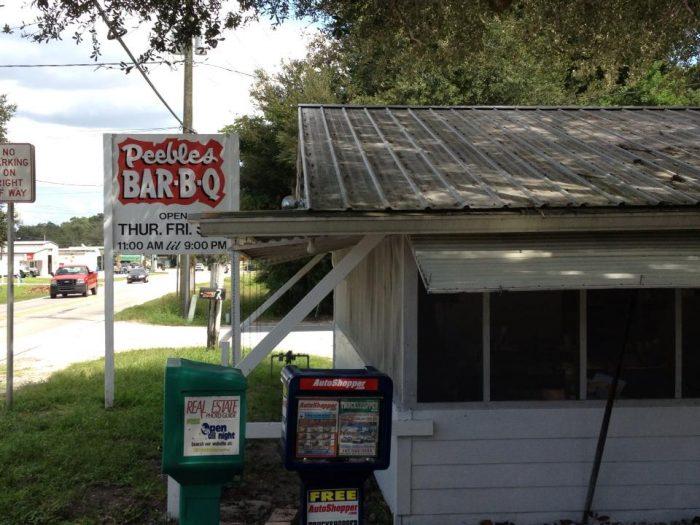 7. Peebles Bar-B-Q, Auburndale