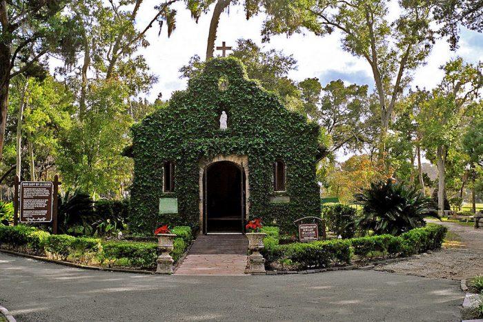 Our Lady of La Leche Chapel, Mission Nombre de Dios