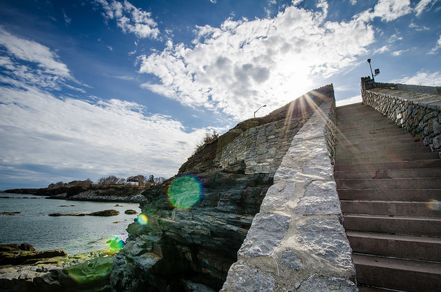 10. Cliff Walk, Newport