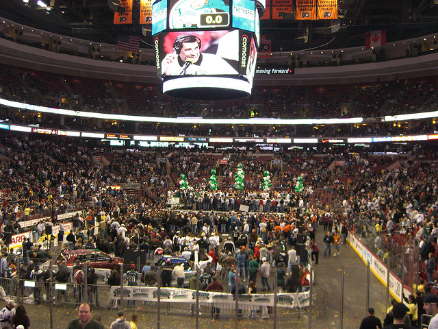11. Compete in or simply watch the annual Wing Bowl in Philly.