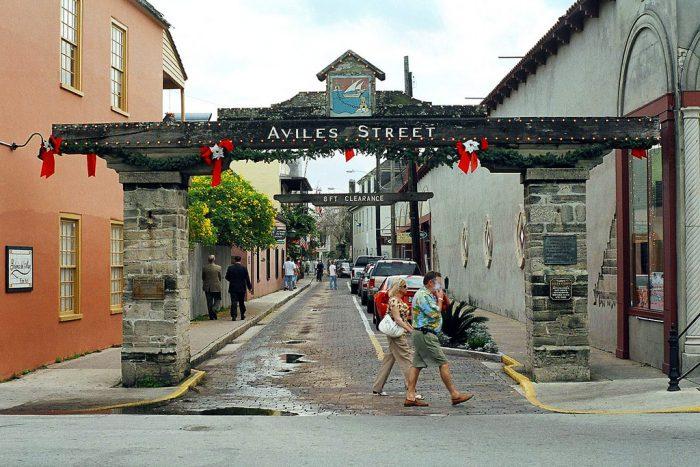 Aviles Street Gate