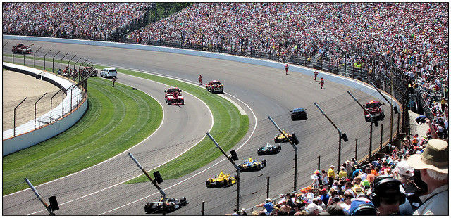1. The Indianapolis Speedway is the Largest Sports Arena in the World