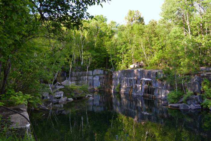 Amazing Cliff Jumping Gopro Video At Dorset Quarry In Vermont