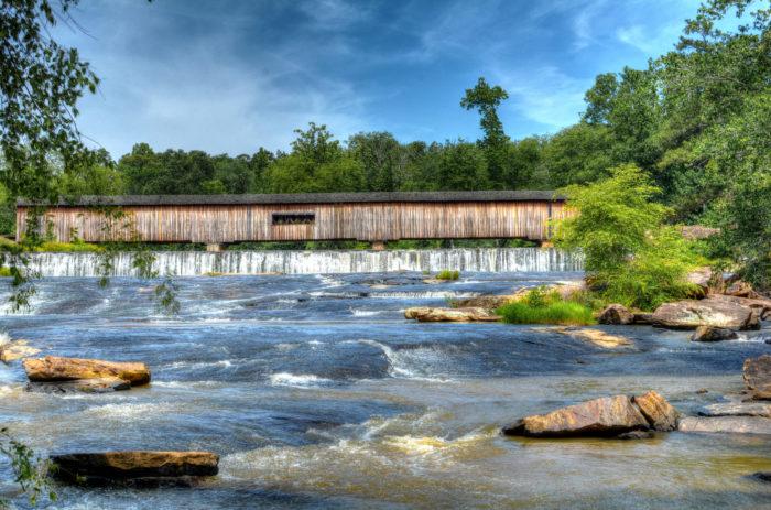 6. Watson Mill Covered Bridge, Comer