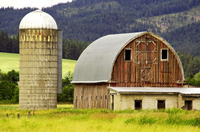 8. This picturesque barn and silo in Princeton are almost too perfect to be real.