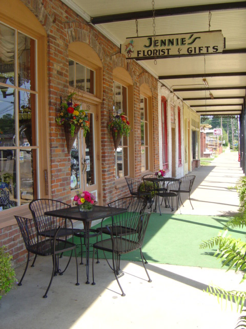 Wander through the town square, enjoying little shops and some serious small town charm.