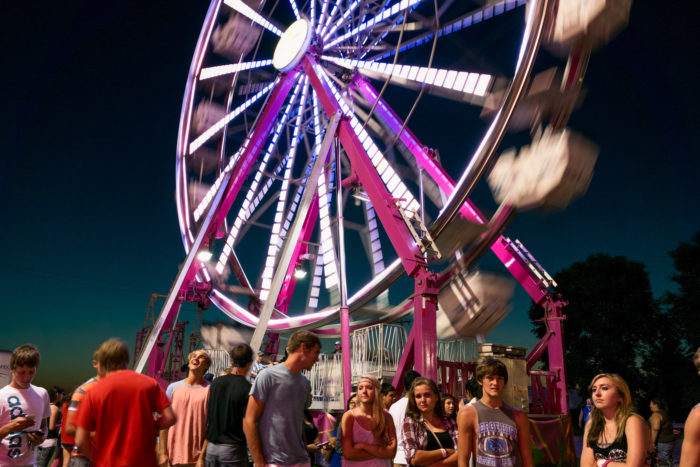 8. Fairs - county AND state