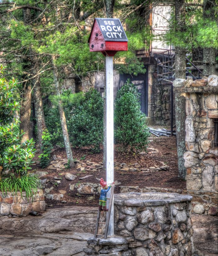 """See Rock City"" Birdhouse"