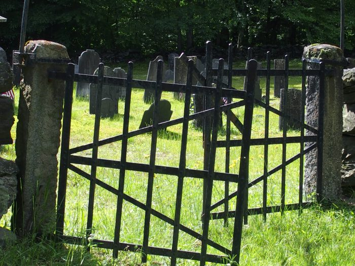 10.  The old cemeteries are filled with texture and history.