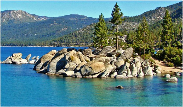 12. Lake Tahoe is the perfect place to sit back, relax and take in all of the beautiful surroundings. What a wonderful way to spend your retirement days!