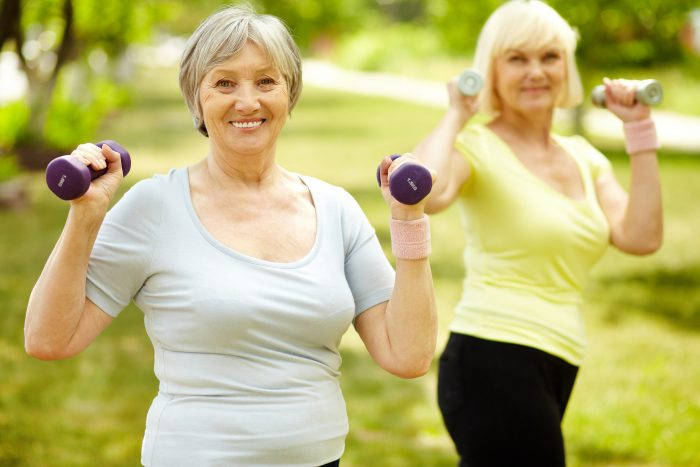 11. Your friends and neighbors will motivate you to stay fit and active.