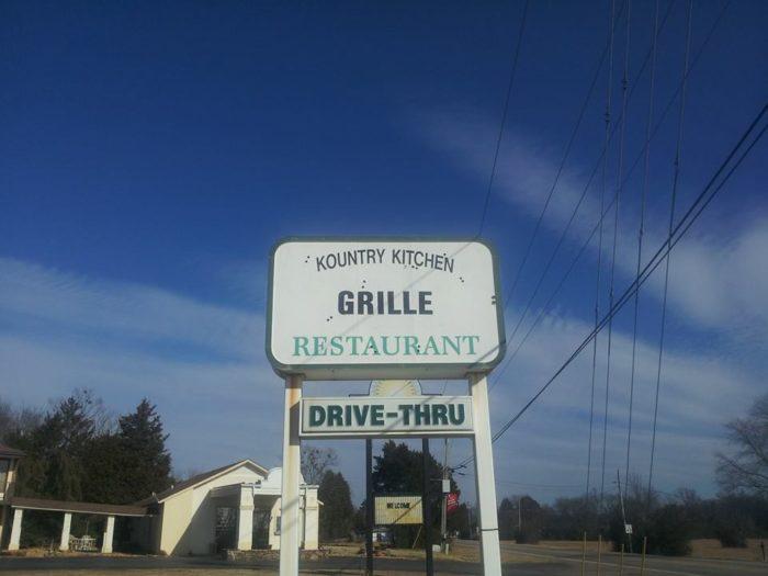 12.Kountry Kitchen Grille (Clarksville)